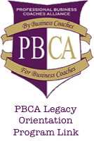 PBCA Orientation Program Logo