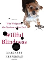 WIllfull Blindness Book with Izzy